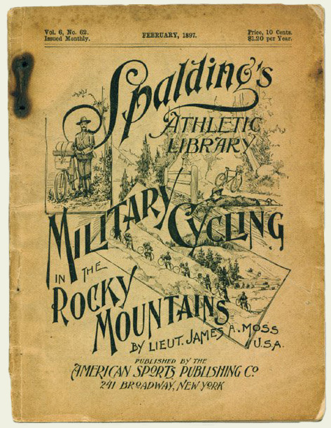 Booklet by Spaulding bikes promoting the military bicycle venture.